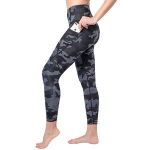 Yogalicious Camo High-waist Ankle Leggings